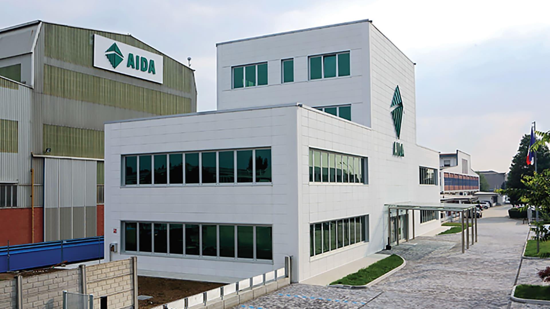 AIDA S.r.l., Brescia, Italy, AIDA's European Manufacturing Base