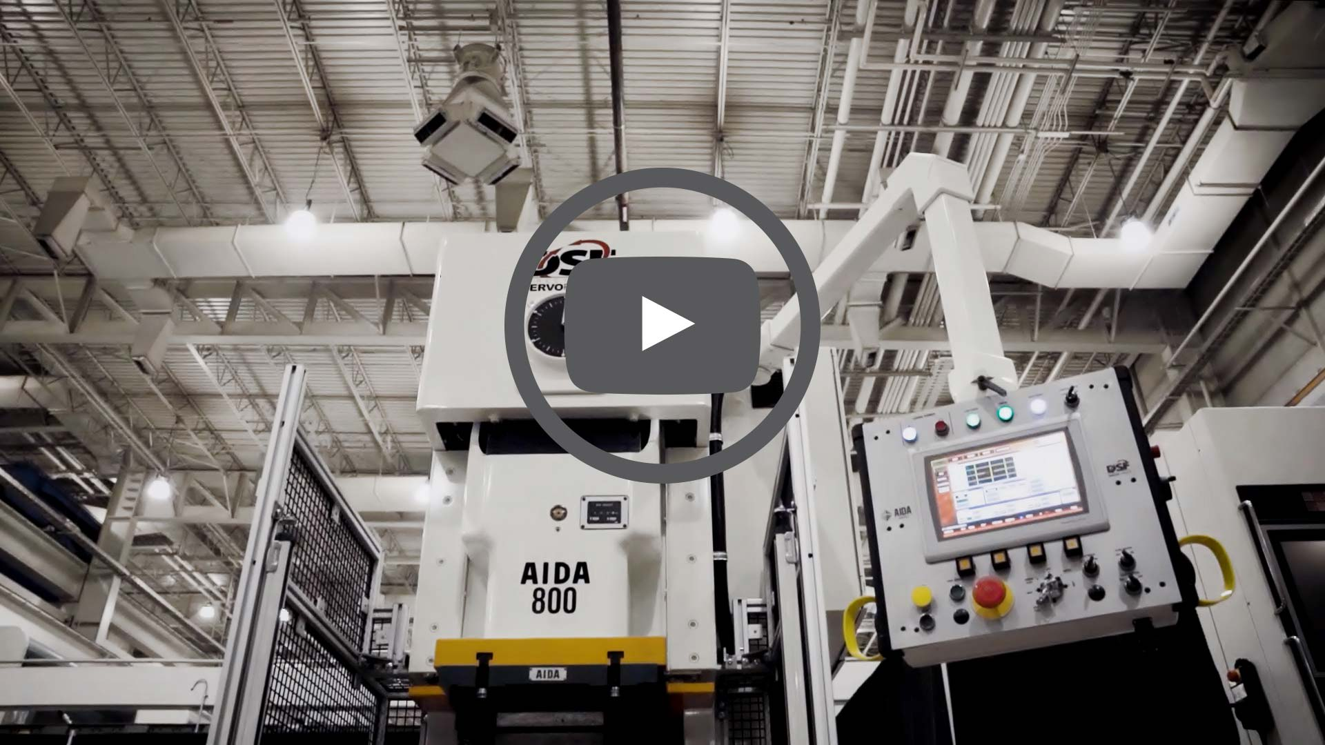 DSF-C1-800A Servo Press Blanking Video