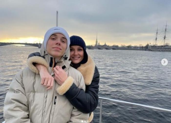 """Гагарина трогательно поздравила сына Андрея с 14-летием: """"Твоя душа намного мудрей моей!"""""""