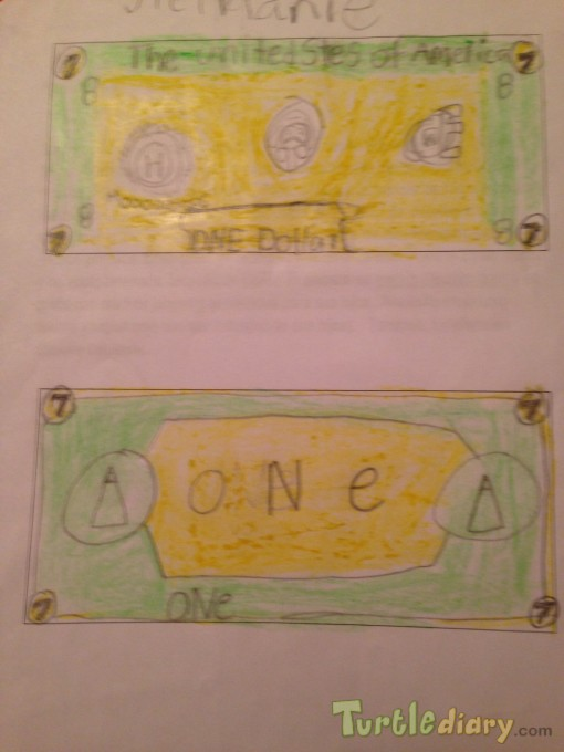 Spring dollar - Design Your Own Money Contest March 2015 Submission