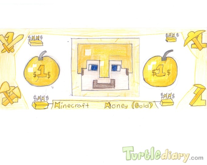 Mincraft Money  - Design Your Own Money Contest March 2015 Submission