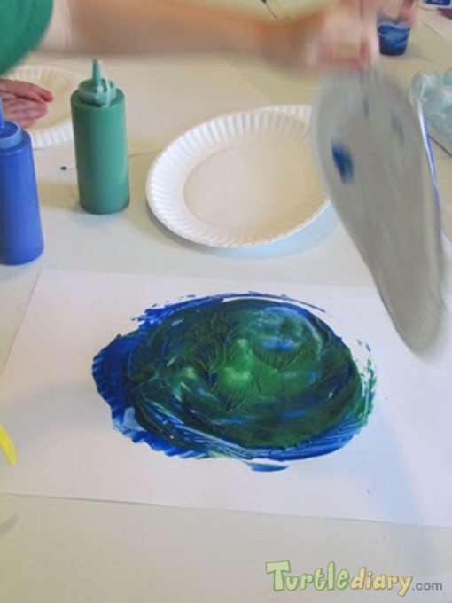 very nicely painted by my 3 and half year old kid. - Earth Day Contest April 2015 Submission