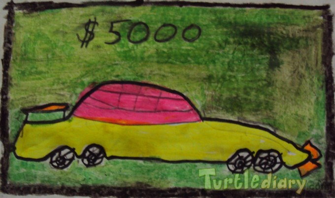 Dollar Car - Design Your Own Money Contest March 2015 Submission