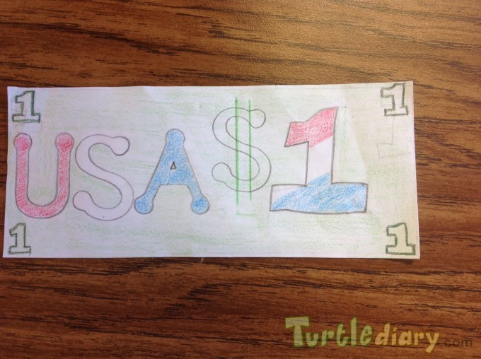 My USA dollar - Design Your Own Money Contest March 2015 Submission