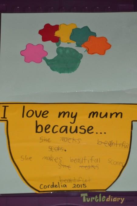 Mum makes the Best Scones - Mother\