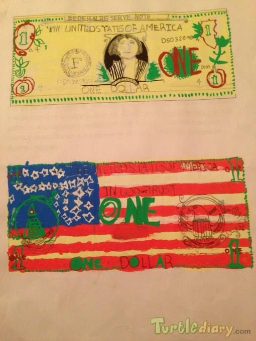 United We Stand Dollar  - Design Your Own Money Contest March 2015 Submission