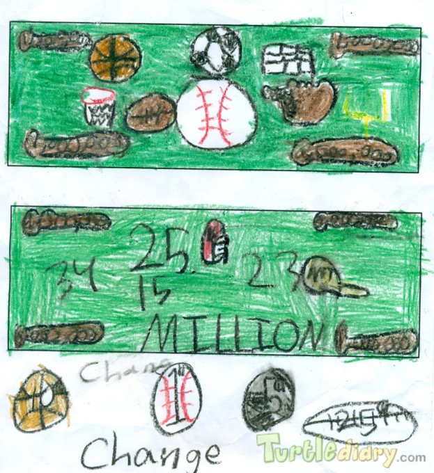 Sports Money - Design Your Own Money Contest March 2015 Submission