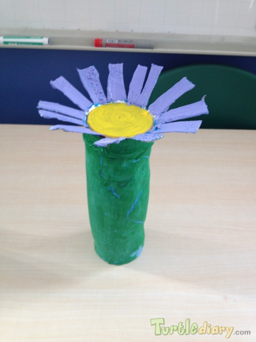 Flower tower chip box - Earth Day Contest April 2015 Submission