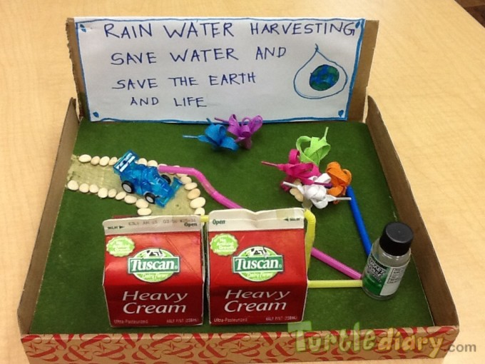 Rain Water Harvesting - Earth Day Contest April 2015 Submission