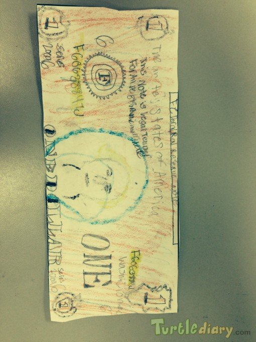 My One Dollar Bill - Design Your Own Money Contest March 2015 Submission