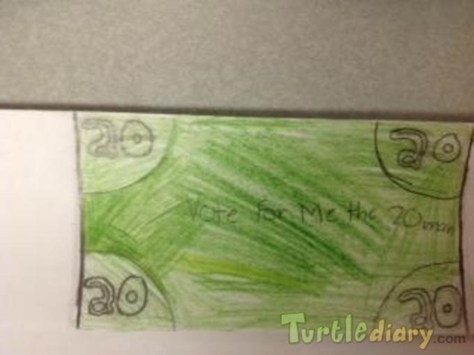 5th Grade Money - Design Your Own Money Contest March 2015 Submission