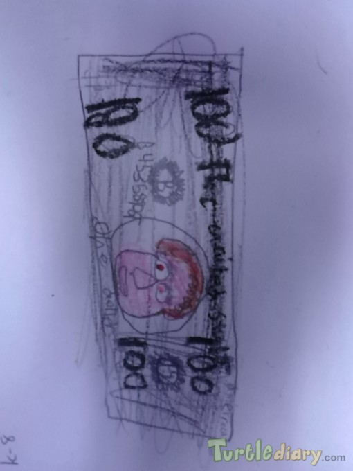 Cupcake dollar - Design Your Own Money Contest March 2015 Submission