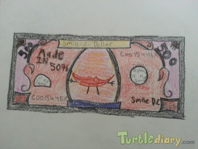 Smile dollar - Design Your Own Money Contest March 2015 Submission