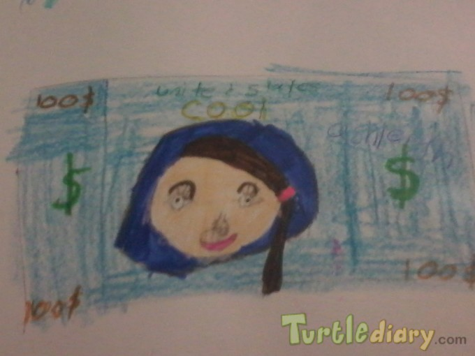ashleighs dollor - Design Your Own Money Contest March 2015 Submission