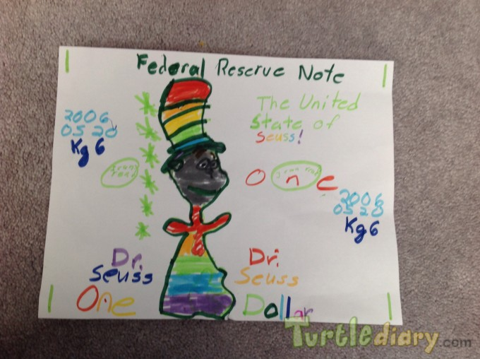 Dr.Suess rainfall - Design Your Own Money Contest March 2015 Submission