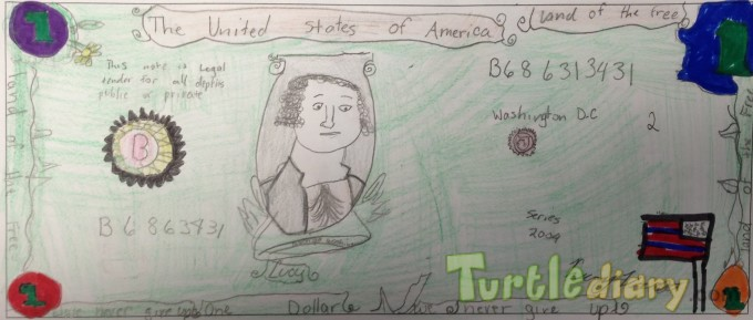 Lucy Dollar - Design Your Own Money Contest March 2015 Submission