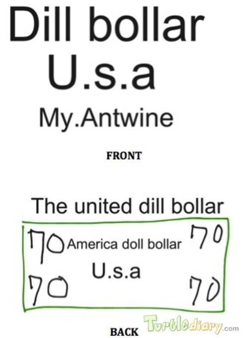 The USA Dollar Bill - Design Your Own Money Contest March 2015 Submission