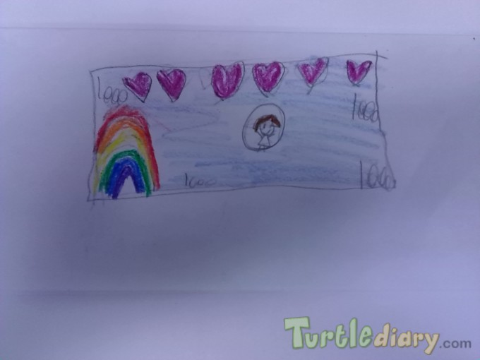 Rainbow heart money - Design Your Own Money Contest March 2015 Submission
