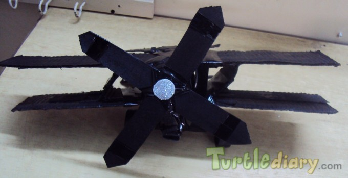 Recycled Jet Plane - Earth Day Contest April 2015 Submission