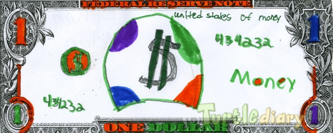 Money sign  - Design Your Own Money Contest March 2015 Submission