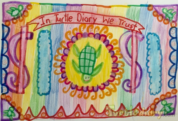 Rainbow Dollar - Design Your Own Money Contest March 2015 Submission