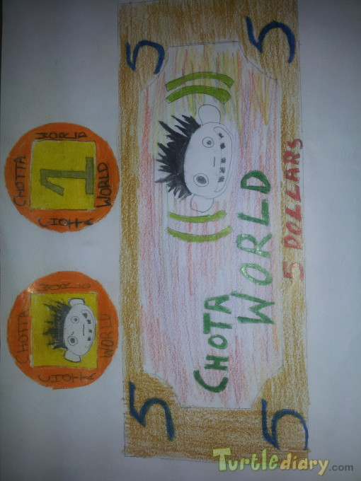 Chota World - Design Your Own Money Contest March 2015 Submission