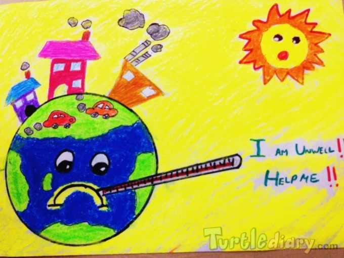 I am unwell . . Help me - Earth Day Contest April 2015 Submission