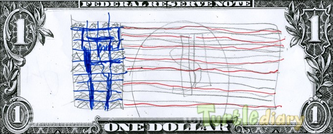 United States Flag - Design Your Own Money Contest March 2015 Submission