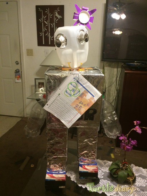 robot 3r flor - Earth Day Contest April 2015 Submission