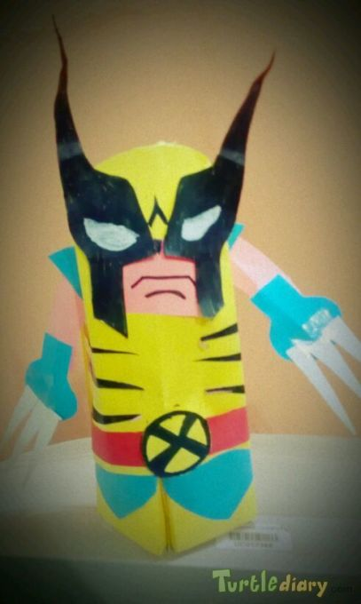 wolverine paper model - Earth Day Contest April 2015 Submission