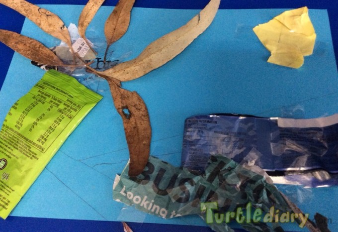 Recycled artwork using rubbish and scraps - Earth Day Contest April 2015 Submission