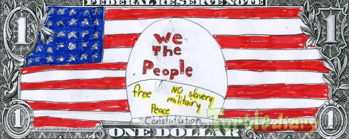 We the people - Design Your Own Money Contest March 2015 Submission