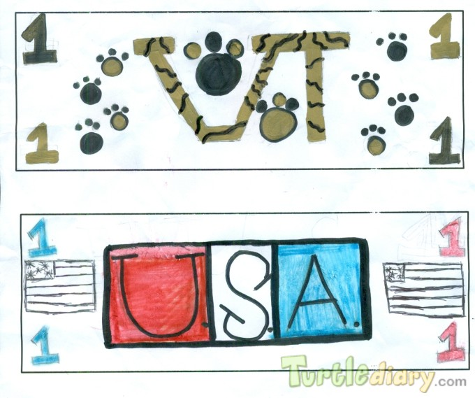 School Spirit Money - Design Your Own Money Contest March 2015 Submission