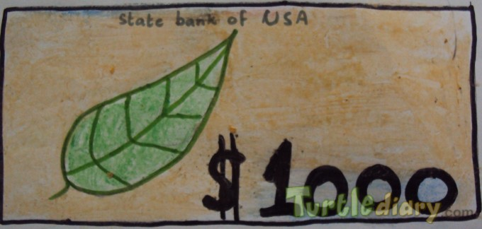 Dollar Leaf - Design Your Own Money Contest March 2015 Submission