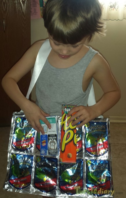 recycled drinks, pop tart cardboard, and cereal box project - Earth Day Contest April 2015 Submission