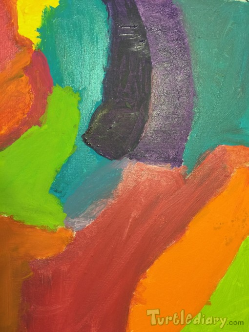 Canvas splash of love color - Mother\