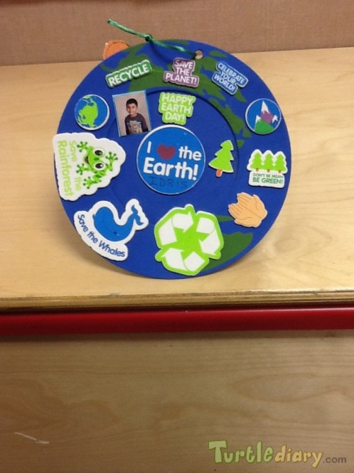 I love the earth - Earth Day Contest April 2015 Submission