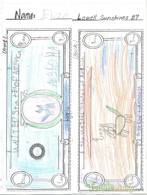 Be Kind to Animals - Design Your Own Money Contest March 2015 Submission