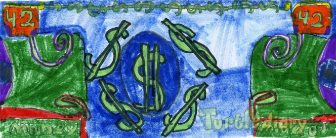 All I see is dollar signs - Design Your Own Money Contest March 2015 Submission
