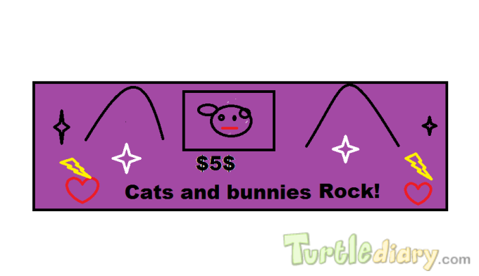 Cats and Bunnies - Design Your Own Money Contest March 2015 Submission