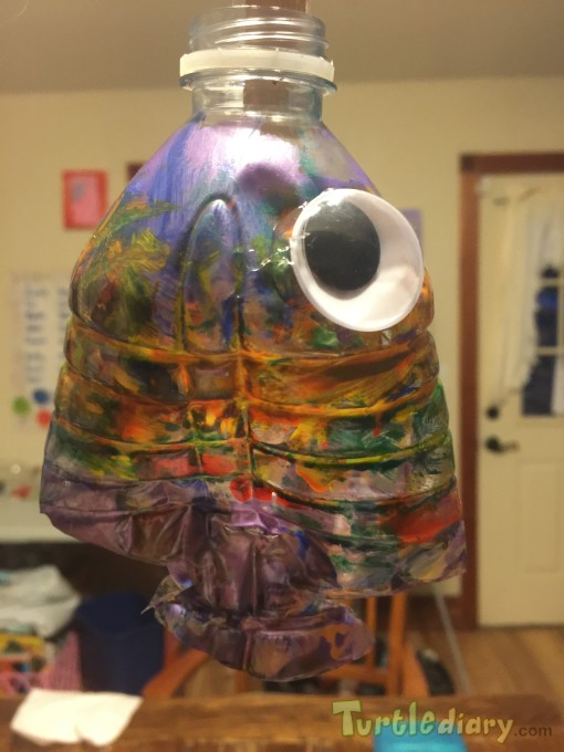 Metallic Fish - Earth Day Contest April 2015 Submission