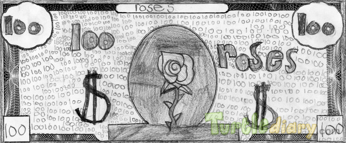 Roses Roses Roses - Design Your Own Money Contest March 2015 Submission
