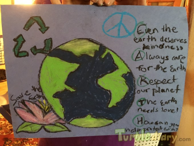 Earth Day poster and poem - Earth Day Contest April 2015 Submission