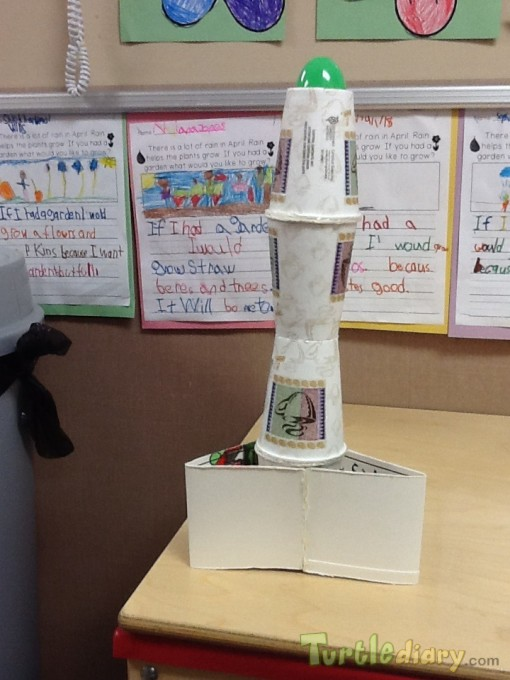 Recycled Rocket Ship - Earth Day Contest April 2015 Submission