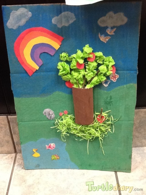 Earth Day Mural and Tree - Earth Day Contest April 2015 Submission