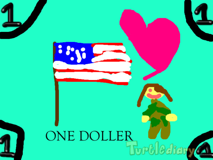 RES 1st Soldier Money  - Design Your Own Money Contest March 2015 Submission