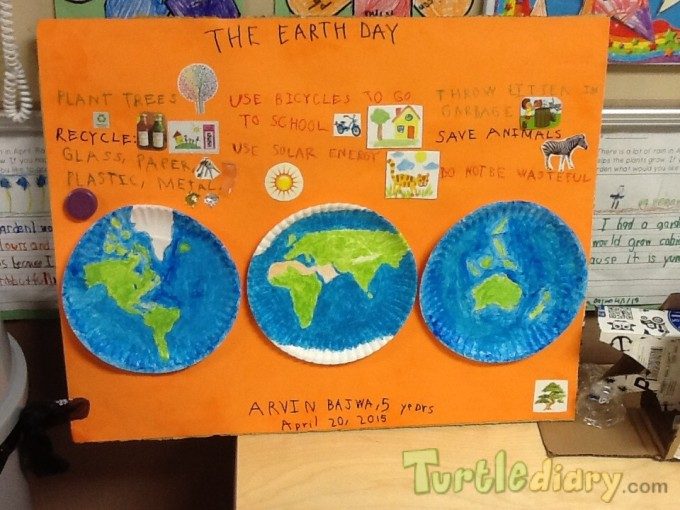 Earth Day Poster - Earth Day Contest April 2015 Submission