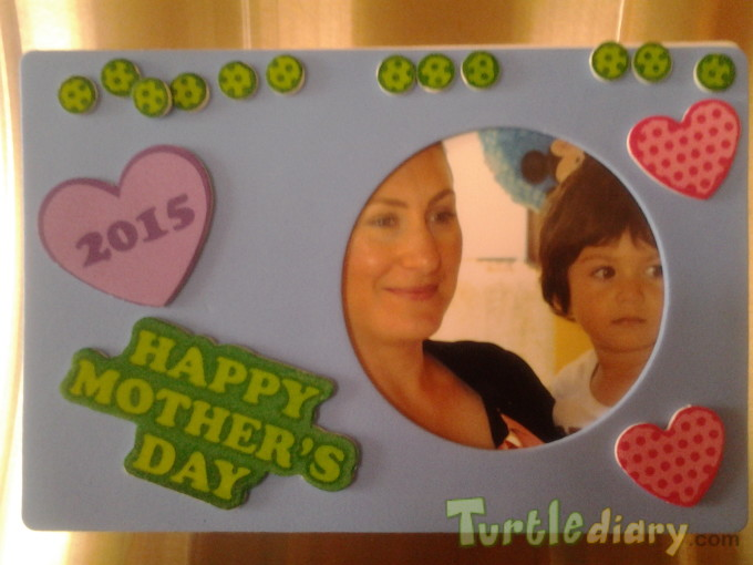 James Mothers day card to mommy - Mother\