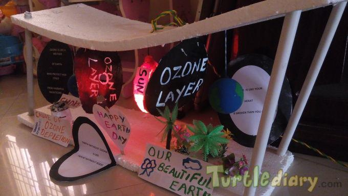 ozone layer for earth - Earth Day Contest April 2015 Submission