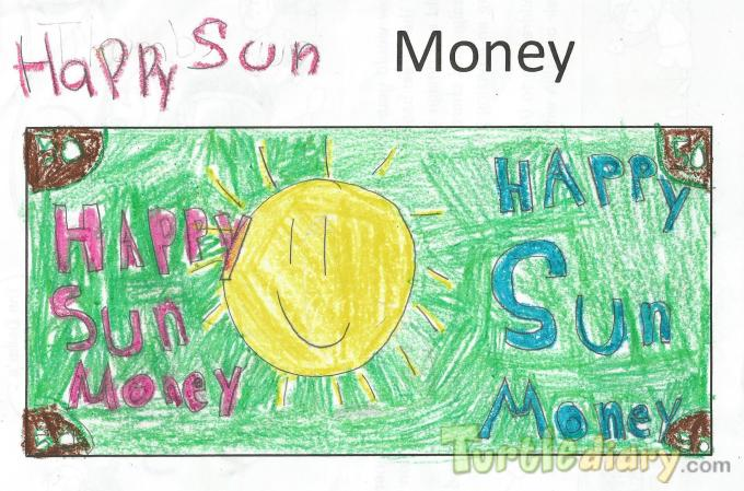 Happy Sun Money - Design Your Own Money Contest March 2015 Submission